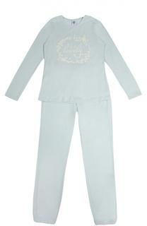 Пижама с фактурной отделкой Sanetta