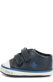 Кроссовки с застежкой велькро Polo Ralph Lauren