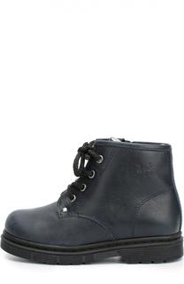 Кожаные ботинки на шнуровке Il Gufo