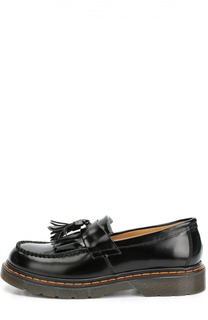 Кожаные туфли с бахромой и кисточкой Gallucci