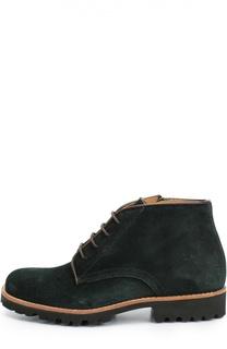 Замшевые ботинки на шнуровке Gallucci
