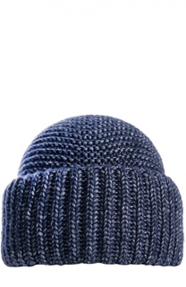 Вязаная шапка из шерсти и шелка Inverni