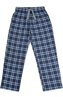Домашние хлопковые брюки в клетку Sanetta