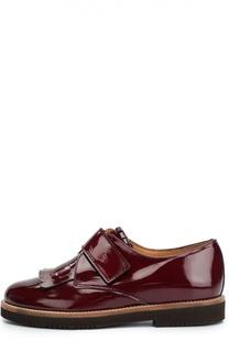 Лаковые туфли с бахромой Beberlis