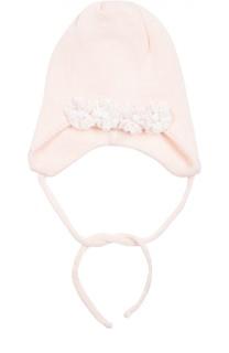 Вязаная шапка с декором Il Trenino