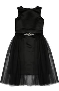 Платье без рукавов с пышной юбкой David Charles