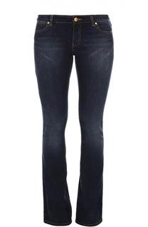 Расклешенные джинсы с потертостями Michael Michael Kors