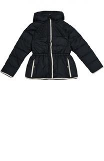 Стеганая куртка с контрастной отделкой Chloé