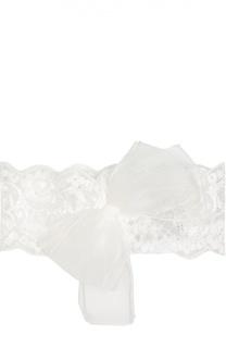 Кружевная повязка с бантом Aletta