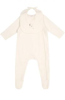 Пижама с нагрудником из хлопка Chloé