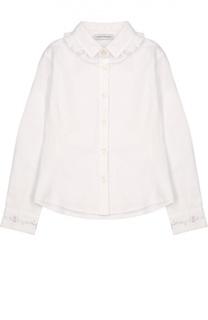 Блуза прямого кроя с рюшами I Pinco Pallino