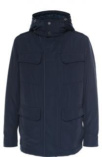 Утепленная куртка на молнии с капюшоном Pal Zileri