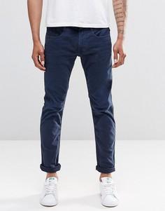Узкие синие джинсы Replay Anbass - Синий