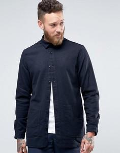 Куртка слим с карманами Hoxton Shirt Company - Темно-синий