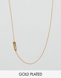 Ожерелье со знаком стрельца Gorjana - Золотой