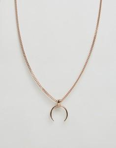 Позолоченное ожерелье Pilgrim - Золотой
