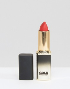 Губная помада LOreal Paris Color Riche Gold Obsession - Золотой
