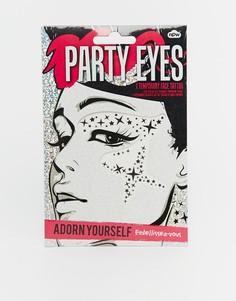 Party Eyes - Временные татуировки для лица - Мульти Beauty Extras