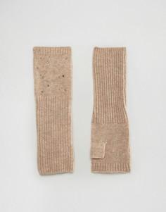 Длинные митенки с заклепками The Alice - Серый