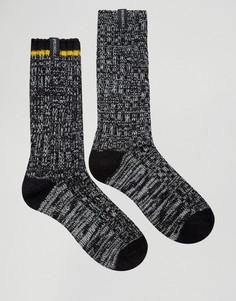 2 пары толстых черных носков Pringle - Черный