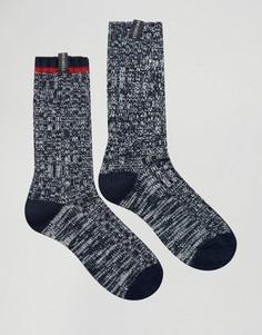 Набор из 2 пар толстых носков Pringle - Темно-синий