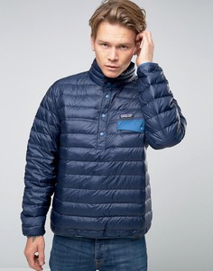 Patagonia Overhead Snap T Down Jacket - Темно-синий