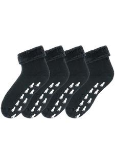 Носки с нескользящей подошвой, 4 пары GO IN
