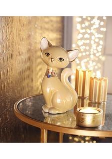 "Коллекционная фигурка ""Кошка Creme Smoke Burma"" Goebel"