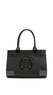 Нейлоновая объемная сумка Mini Ella с короткими ручками Tory Burch
