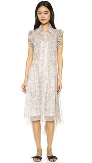 Платье с цветочным рисунком Philosophy di Lorenzo Serafini