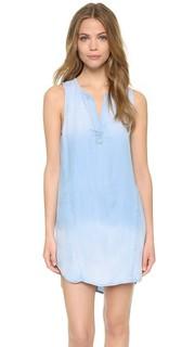 Платье без рукавов с отстрочкой Bella Dahl