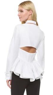 Блуза с длинными рукавами Antonio Berardi