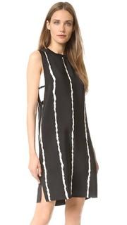 Платье без рукавов с вырезами по бокам Derek Lam 10 Crosby