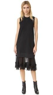 Многослойное платье MM6