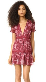 Платье Alexa с короткими рукавами Saylor