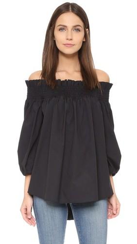 Блуза Lou с открытыми плечами