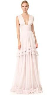Вечернее макси-платье Maria Lucia Hohan