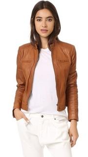 Кожаная куртка Dezra Joie