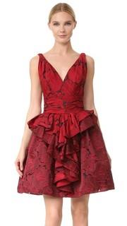Коктейльное платье Rose Marchesa