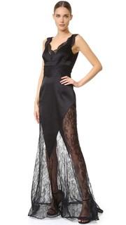 Кружевное вечернее платье Emanuel Ungaro