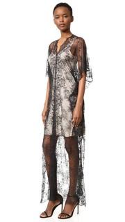 Кружевное макси-платье Loyd/Ford