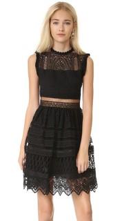 Платье с вышивкой Sage Alexis