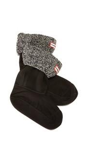 Носки с отделкой в виде косичек под короткие ботинки Hunter Boots