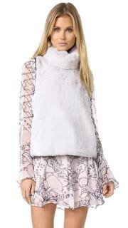 Легкая рубашка Vera с роскошным искусственным мехом Marissa Webb