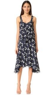 Двухслойное платье-майка Derek Lam 10 Crosby