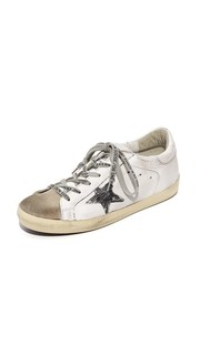 Кроссовки Superstar White Flag Golden Goose