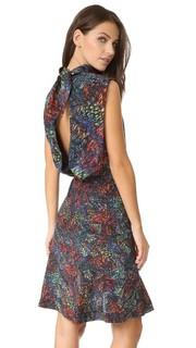 Короткое платье Fleur Saloni