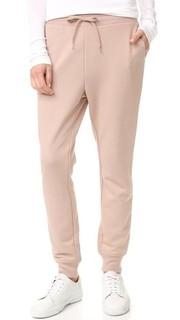 Спортивные брюки из мягкого махрового трикотажа T by Alexander Wang