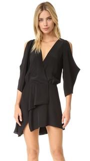 Мини-платье с открытым плечом Michelle Mason