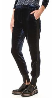 Бархатные брюки для бега 3.1 Phillip Lim